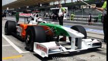 Fórmula 1: Fisichella larga na pole position no GP da Bélgica - Barrichello larga em quarto