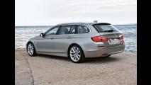 Nova BMW Série 5 Touring 2011 - Confira galeria de fotos em alta resolução
