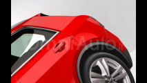 Audi Q1, il rendering