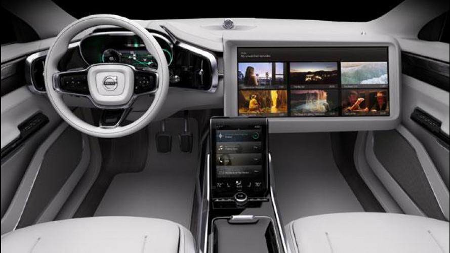Volvo e Ericsson preparano lo streaming intelligente [VIDEO]