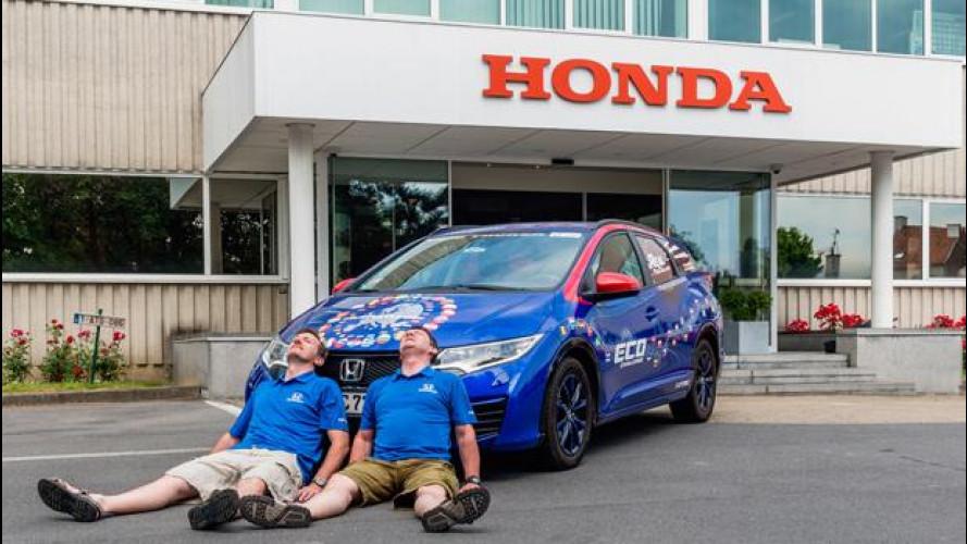 Honda entra nel Guinness dei Primati per un consumo bassissimo