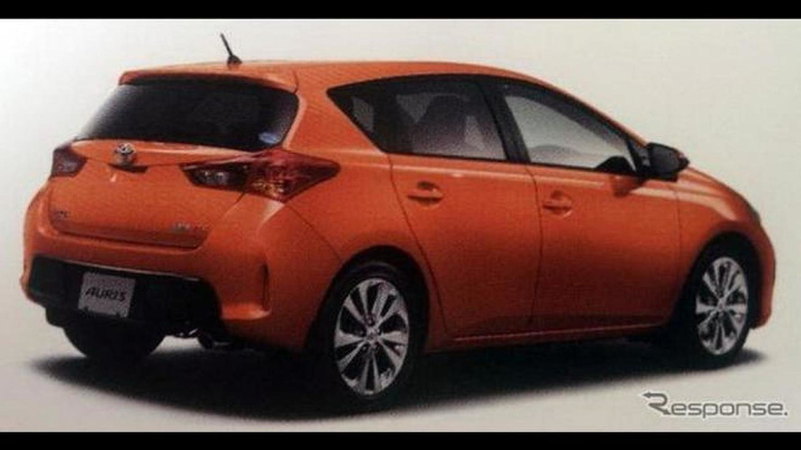 2013 Toyota Auris revealed in leaked brochure