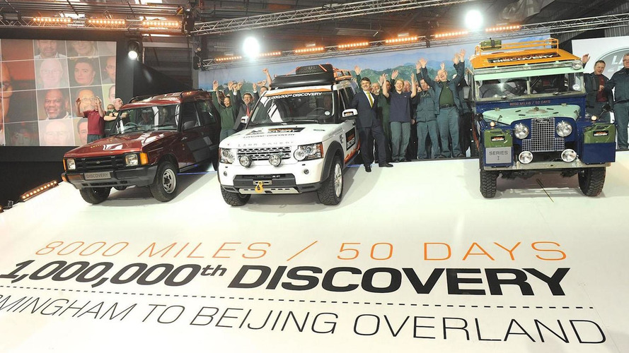 Land Rover builds its 1,000,000th Discovery