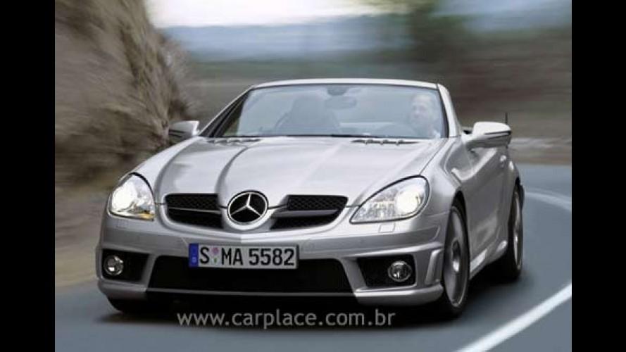 Mercedes-Benz revela nova SLK 55 AMG