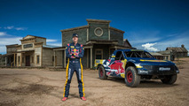 Red Bull Trophy Truck Jumps Ghost Town
