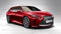 2017 Lexus CT200h rendering