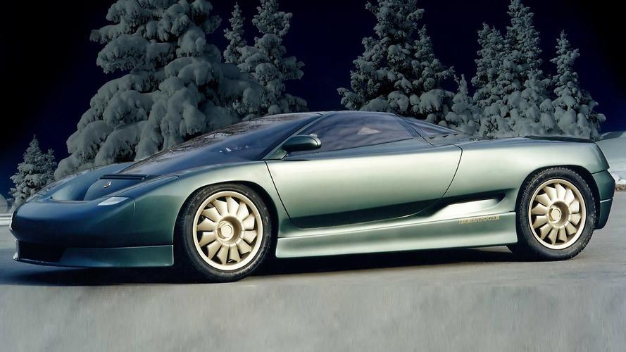 Bertone Lotus Emotion (1991) - Une sportive avec des gènes de Bugatti