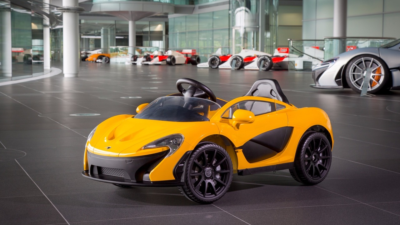 Electrical McLaren P1 for kids