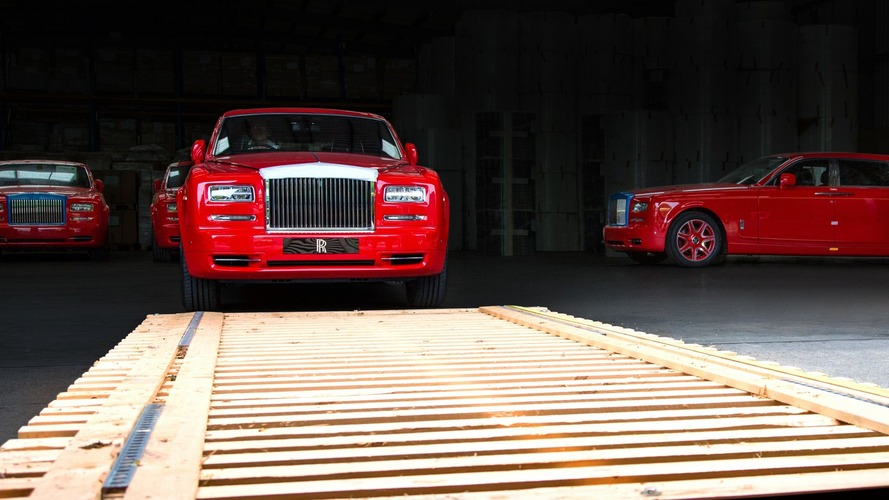 Rolls-Royce's largest order ever of 30 Phantoms delivered