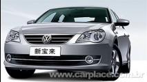 Salão de Pequim 2008: Volkswagen apresenta Novo Bora 2009 - Veja Fotos