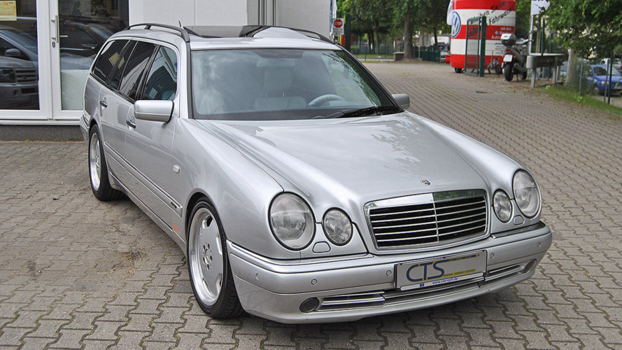 Mercedes E55 AMG owned by Michael Schumacher for sale