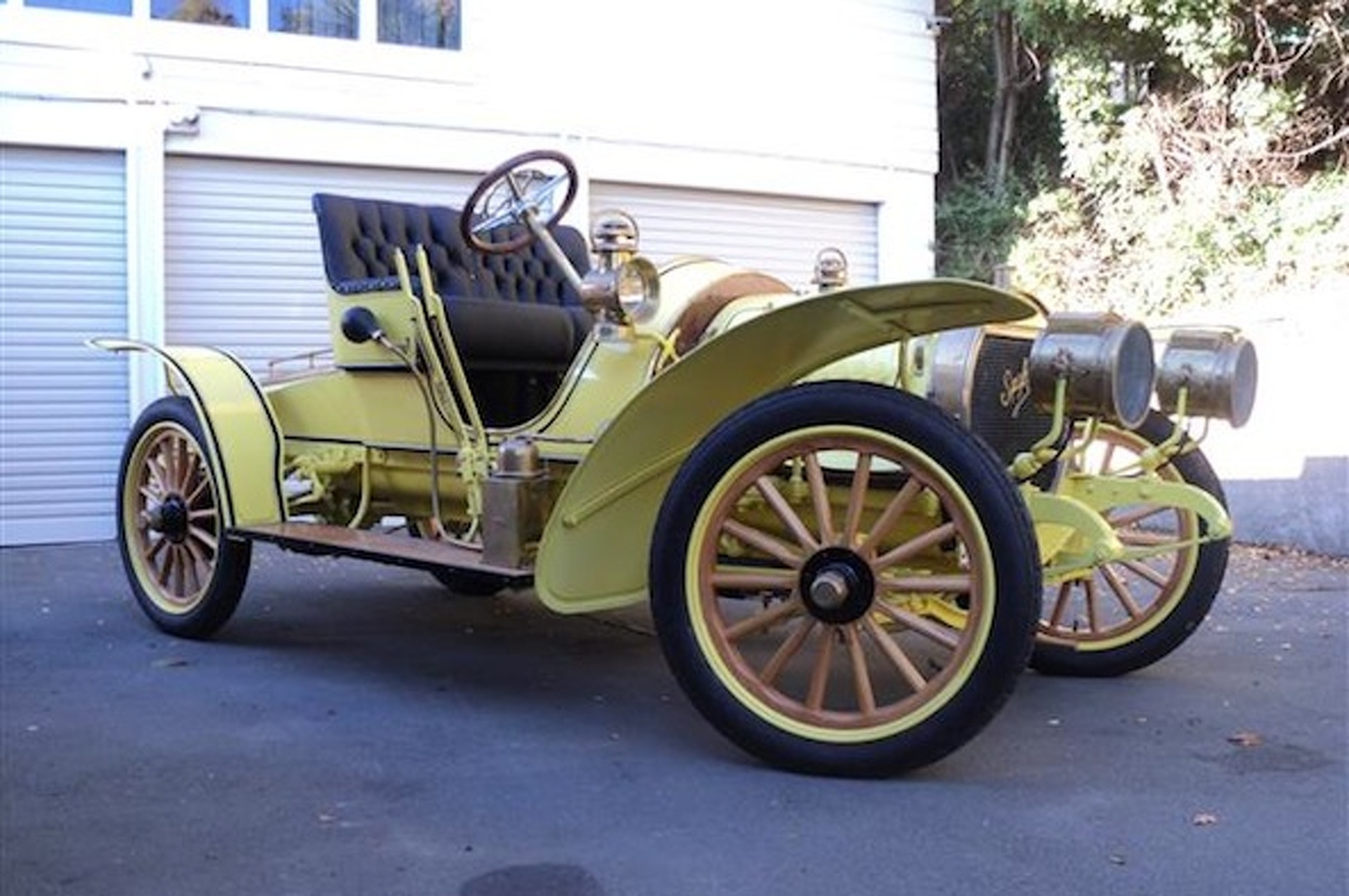 Rob Spyker Gives a Closer Look at his 1907 Spyker Restoration Project