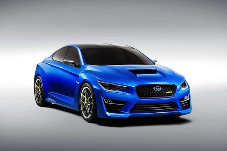 Subaru WRX Concept is the Handsome Sports Sedan Defined