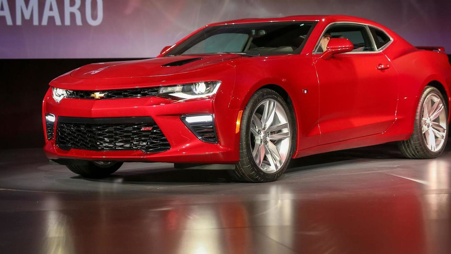 2016 Chevrolet Camaro goes official with 455 bhp SS version