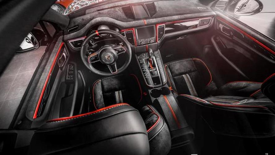 Porsche Macan interior overhauled by Carlex Design