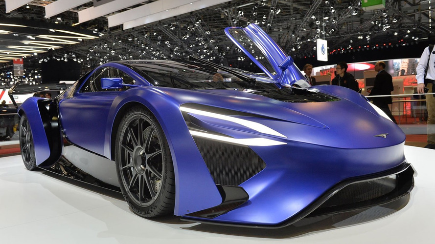 2016 Techrules At96 Trev Supercar Concept: TechRules AT96 & GT96 TREV Supercar Concepts Unveiled