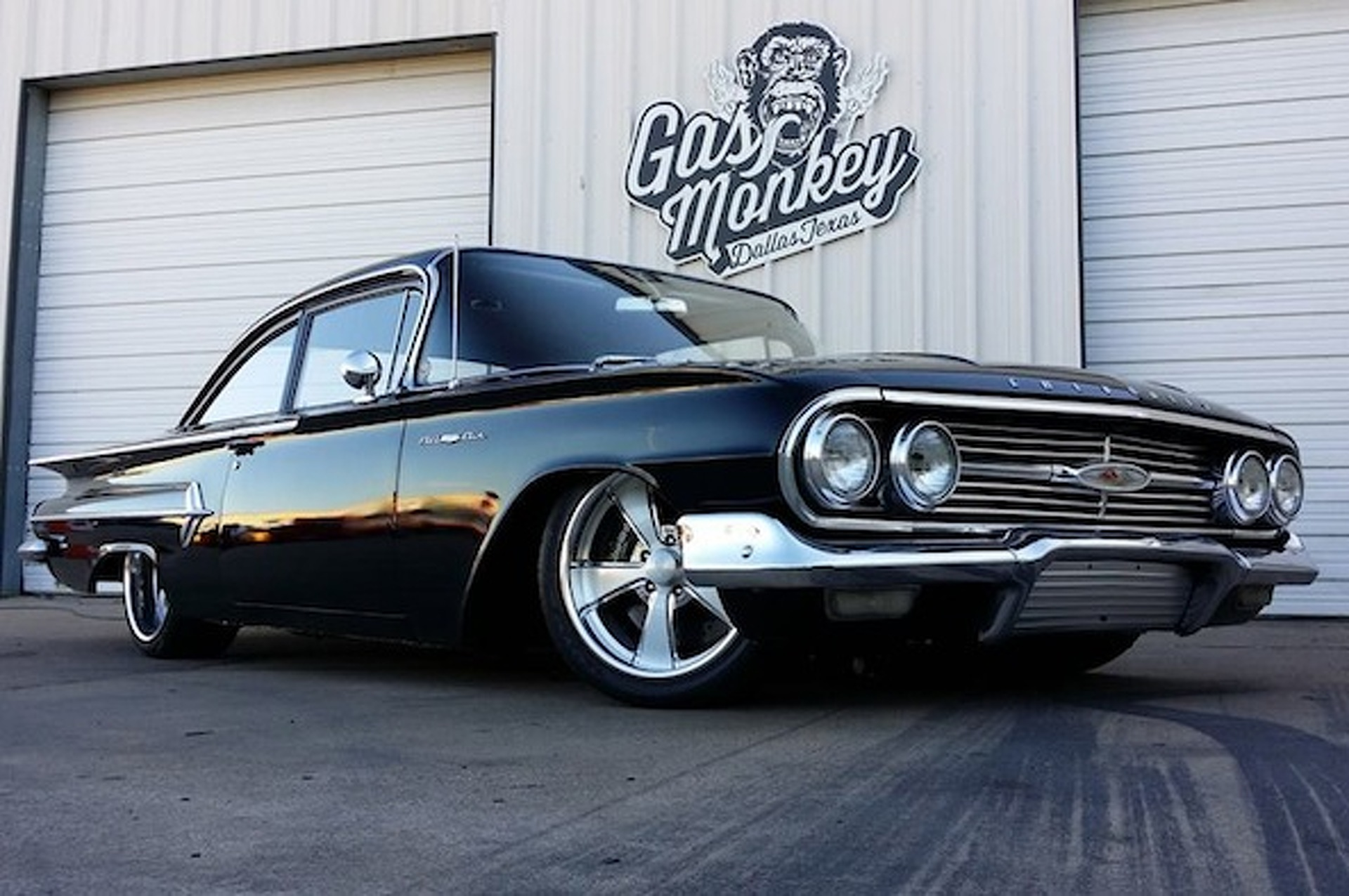 monkey garage builds one big bold chevy bel air gas monkey garage builds one big bold chevy bel air