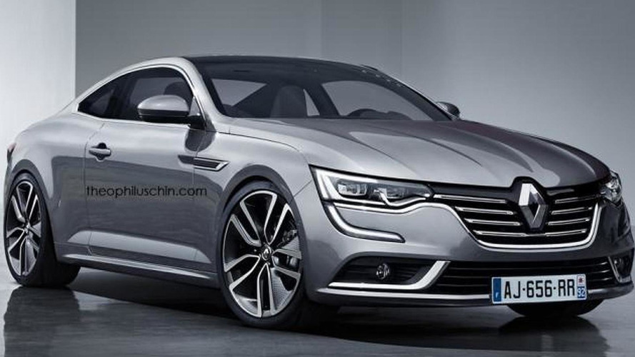 renault talisman coupe render shows a worthy laguna coupe successor that won t happen. Black Bedroom Furniture Sets. Home Design Ideas
