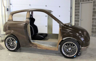 The Next Big 'Green' Car Could Be Made from Hemp? [w/video]