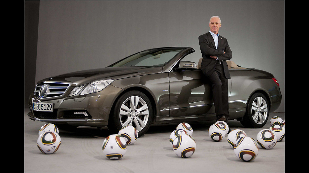 Franz Beckenbauer: Mercedes E-Klasse