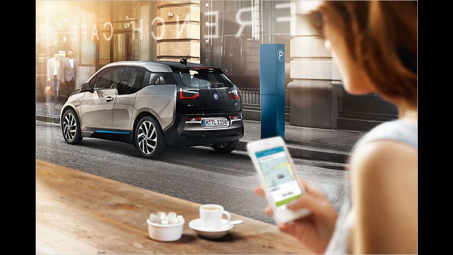 Vom Handy-Parken bis zur Parkplatzprognose