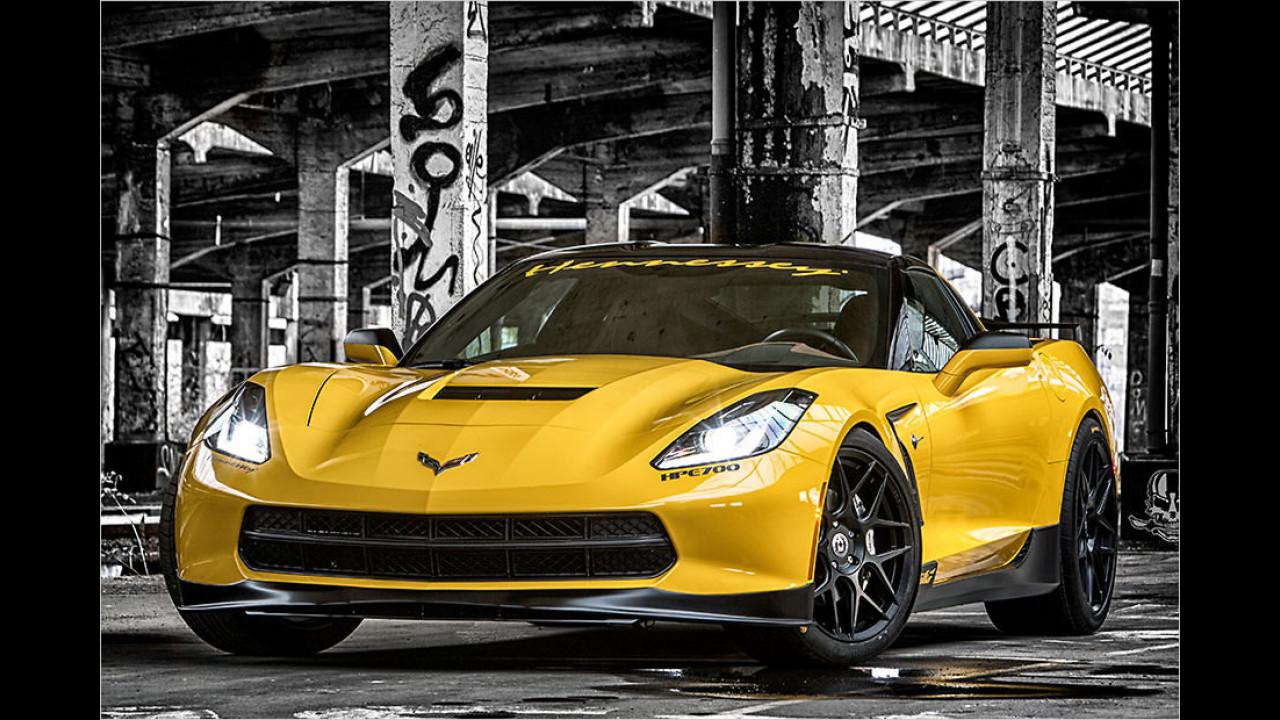 Schick: Rüffer tunt die Corvette C7