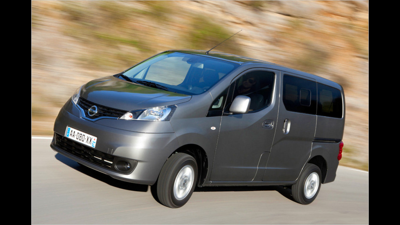 Kleinbusse: Nissan NV200 Evalia 1.5 dci 90F Premium