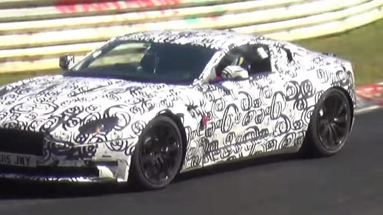 Aston Martin DB11 screenshot from spy video