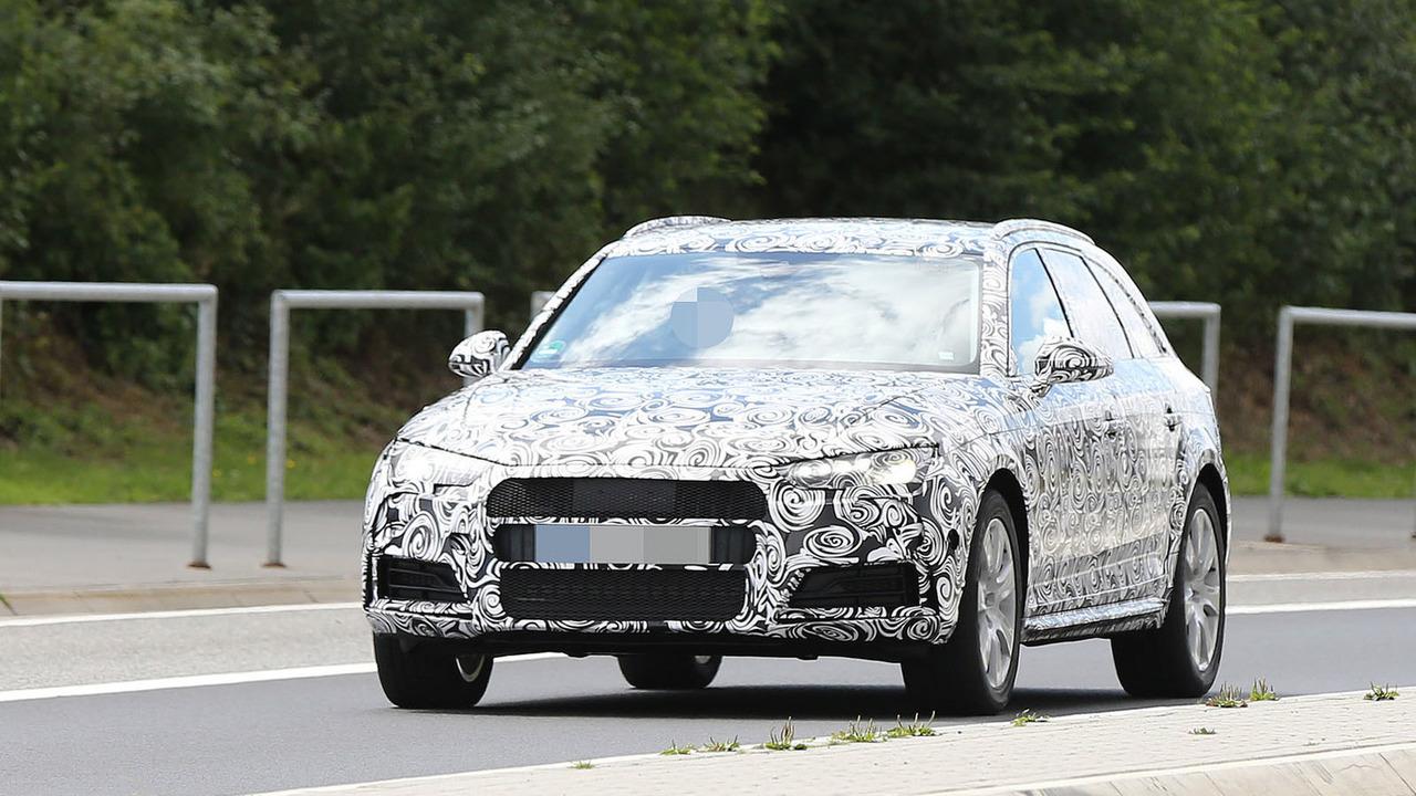2016 Audi A4 Avant Allroad spy photo