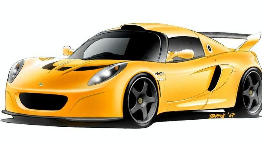 Geneva Motor Show: Lotus Exige GT3 Concept Road Vehicle