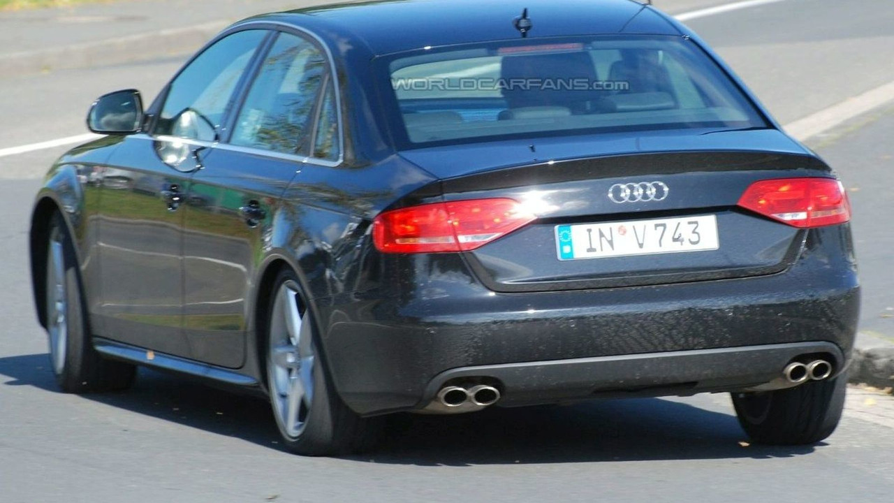 The 2009 Audi S4