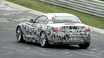 Dynamic Spy Shots of BMW Z4 on the Ring