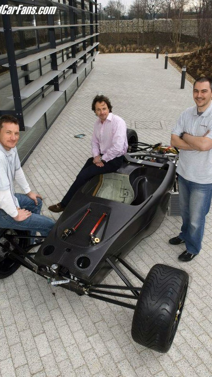 T1 prototype with Scott-Geddes, Butcher, Halstead