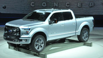 Ford Atlas concept live in Detroit
