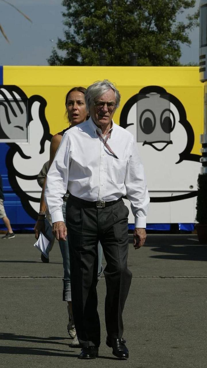 Bernie Ecclestone, GBR - July, Formula 1 World Championship, Rd 10, French Grand Prix, 03.07.2005 Magny-Cours, France