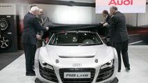 Audi R8 LMS during the presentation at the Essen Motor Show (28 Nov)