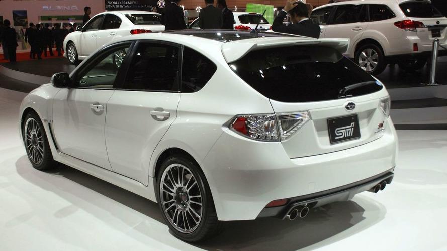 Subaru Impreza WRX STI Carbon in Tokyo