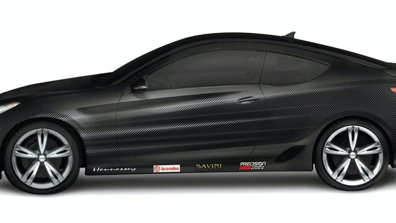 Hennessey Tuner School Transforms Hyundai Genesis Coupe Into 500-Horsepower Beast for SEMA