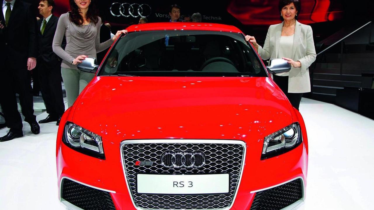 Audi RS3 live in Geneva - 01.03.2011