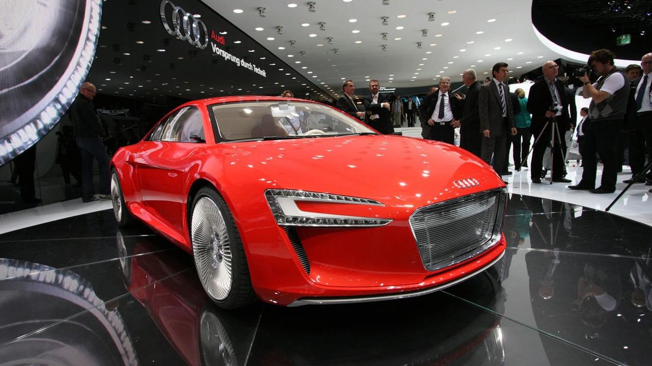 Audi e-tron Concept at 2009 Frankfurt Motor Show