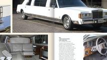 Michael Jackson 1988 Lincoln Town Car limousine