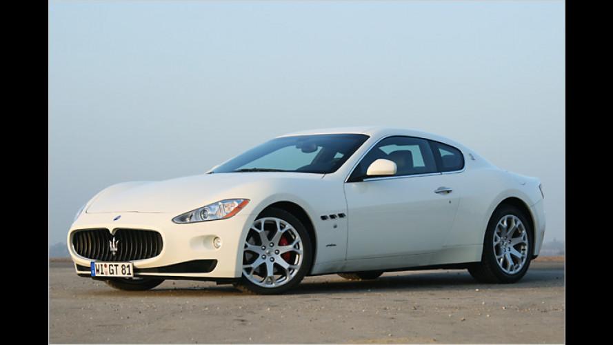 Elegant und sportlich: Der Maserati GranTurismo im Test
