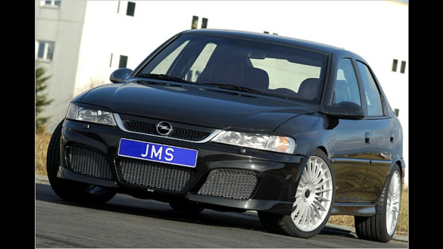 Alte Liebe rostet nicht: JMS tunt den Opel Vectra B