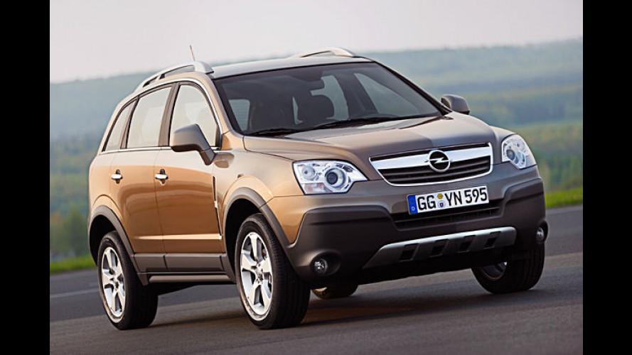 Opel Antara: Im November 2006 startet der neue Crossover