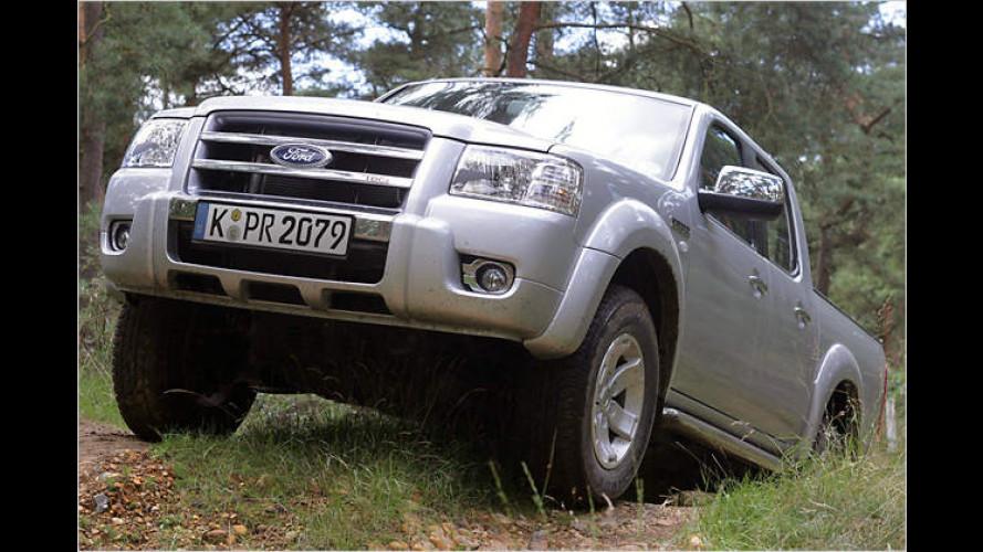 Ford Ranger kommt mit neuer Optik und einem neuem Motor