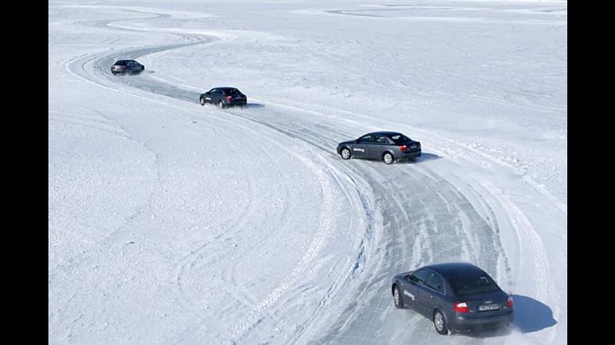 Audi zeigt den Weg in gefährliche Grenzbereiche und zurück