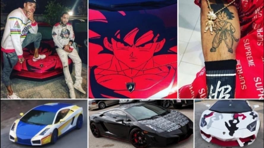 Lamborghini elaborate, incredibili quelle di Chris Brown [VIDEO]