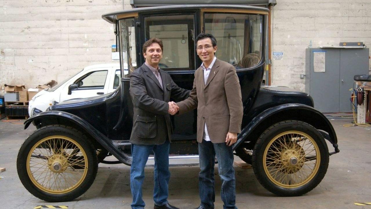 Original Detroit Electric Car