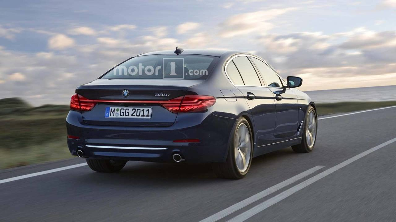 BMW 3 Series Render