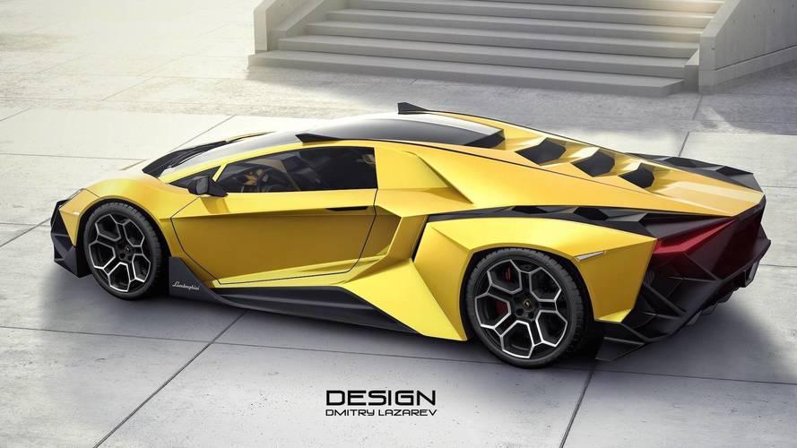 Aventador >> Lamborghini Forsennato Hypercar Is Edgy, Even By Italian Standards